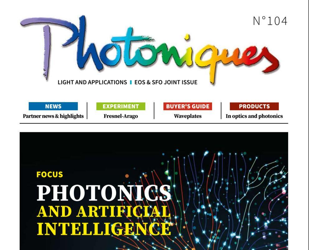 English issue of Photoniques now available