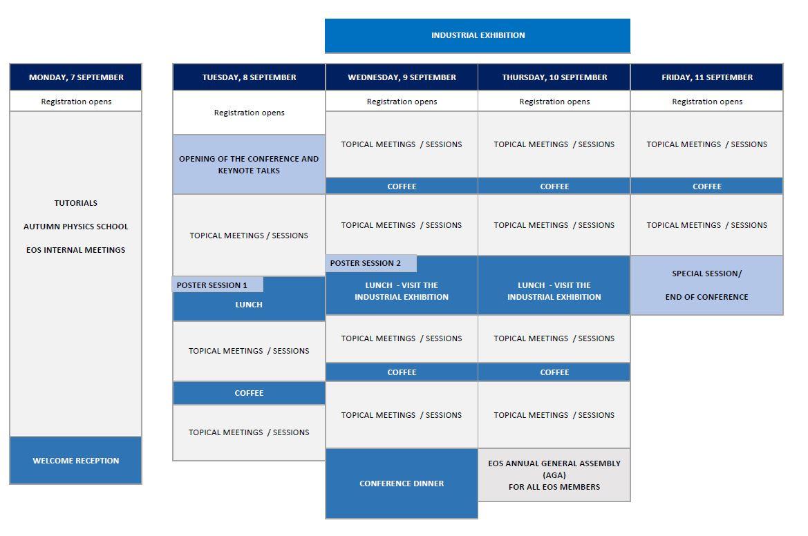 Schedule dec2019