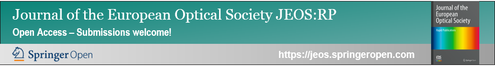 Publish in open access: Journal of the EOS