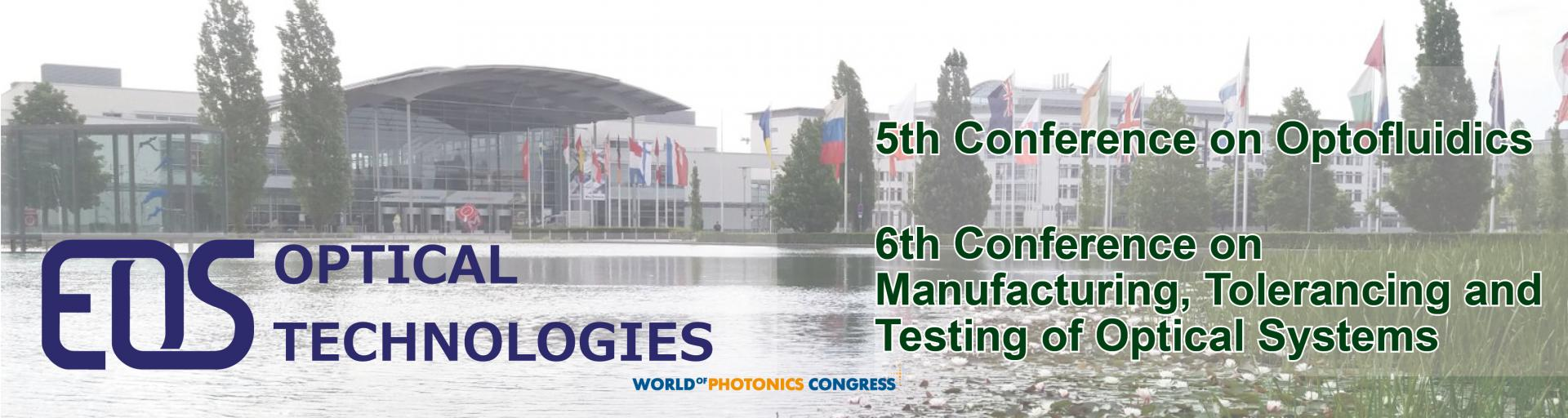 EOS Optical Technologies at the World of Photonics Congress